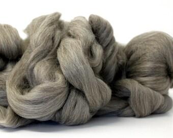 Grey Gotland Combed Wool Top  Scandanavian Fibre 1 Kilo 2.2lb