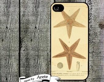 Antique Starfish Illustration Phone Case for iPhone 4 4s 5 5s 5c SE 6 6s 7  6 6s 7 Plus Galaxy s4 s5 s6 s7 Edge