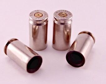 40 Caliber Spent Bullet Shell Bullet Casing Valve Tire Stem Caps Cover