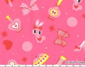 Lecien Japanese Kawaii Bunny Fabric 2Y listing for mtorres12593
