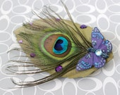 Butterfly Forest Faerie Hair Clip