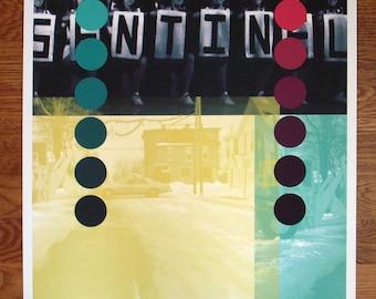 Sentinel - unique archival pigment print