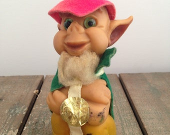 1960's Leprichaun Troll Good Luck!