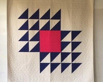 Fly Away, a custom quilt by Heather Jones