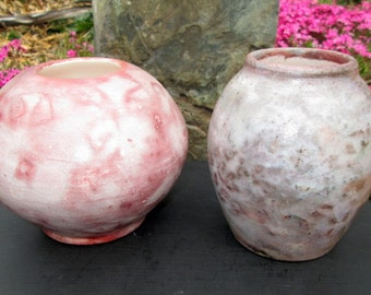 CLEARANCE Saggar Raku Vase