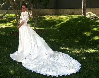 Vintage 1993 Wedding Gown