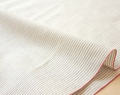 Japanese Fabric - yarn dyed selvedge cotton  - E - 50cm