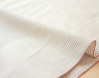 Japanese Fabric - yarn dyed selvedge cotton  - E - 50cm