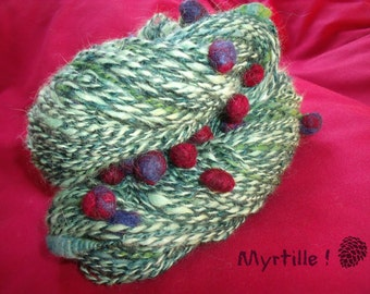 Blueberry, a bulky yarn