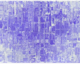 Lavender Purple Abstract Art Giclee PRINT on Canvas Wall Art Home Decor Modern Wall Art Large Lilac Contemporary Art by Susanna