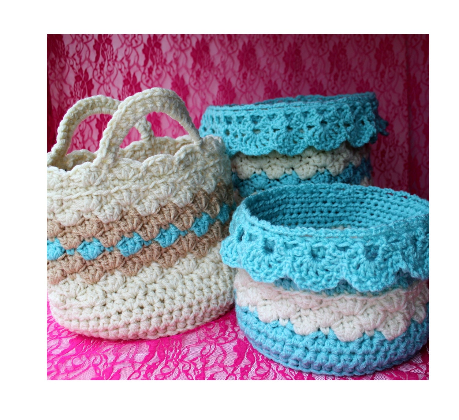 Crochet Wedding Gifts Patterns: Lace Crochet Pattern
