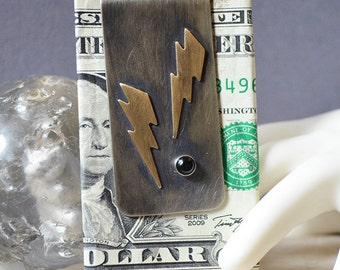 Lightning Bolt Money Clip