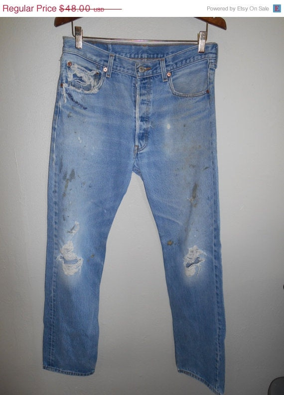 vintage clothing sale faded worn 90 s levis by