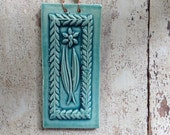 Wildflower Tile in Turquoise