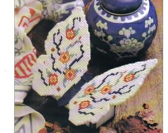 Oriental Potpourri Box ~ plastic canvas pattern