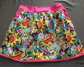 Food fight Psychedelic Fairy Kei Hysteric Plus Skirt