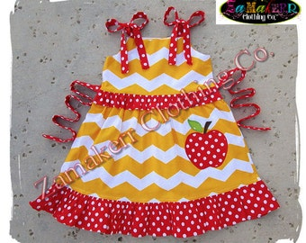 6 month red dress 7 8