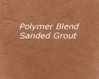 Mosaic Grout EARTH BROWN 1 Pound Sanded Polymer Fortified for Craft and Home Projects Just Add Water