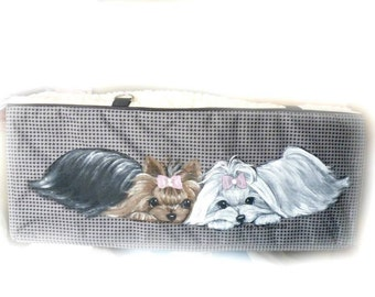 Custom  Hand Painted Carseat Booster Seat by SugarspiceArt