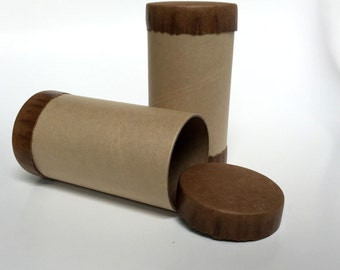 Candy tubes etsy for Kraft paper craft tubes