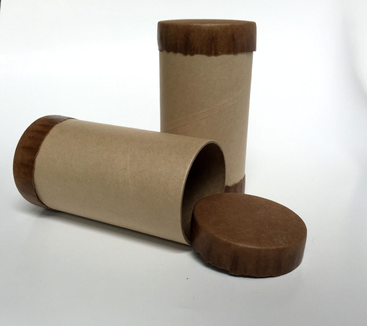 Kraft paper tube container paper tubes gift box favor box for Kraft paper craft tubes