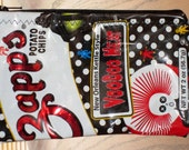 ReCyClEd Repurposed Zipper Pouch from Snack Chip Bag Louisiana