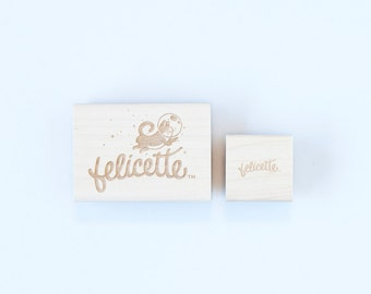 Custom Rubber Stamp Personalized Business or Personal Stamp