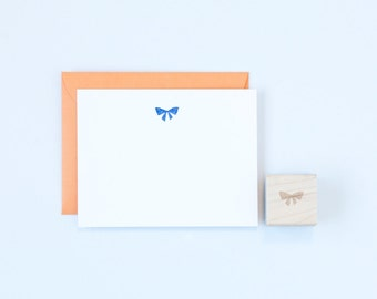 Small Bow Rubber Stamp