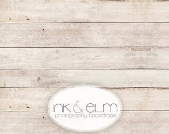 "Vinyl Backdrop 7ft x 6ft, Vinyl Wood Photography Backdrop / Floordrop, Clean light wood backdrop, photo booth background prop, ""Smooth Grit"""
