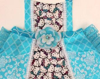 True Blue Hello Kitty  Apron