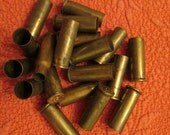 Eighteen Brass Bullet Casings for Crafting
