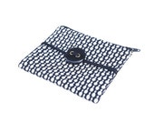 Zipper Pouch Black and White