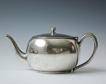 vintage Gotham silver plate metal teapot