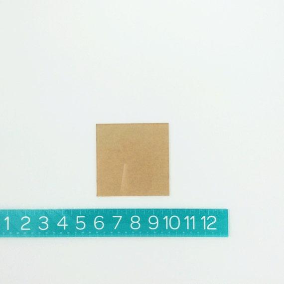 """squares PAIR (4"""")"""