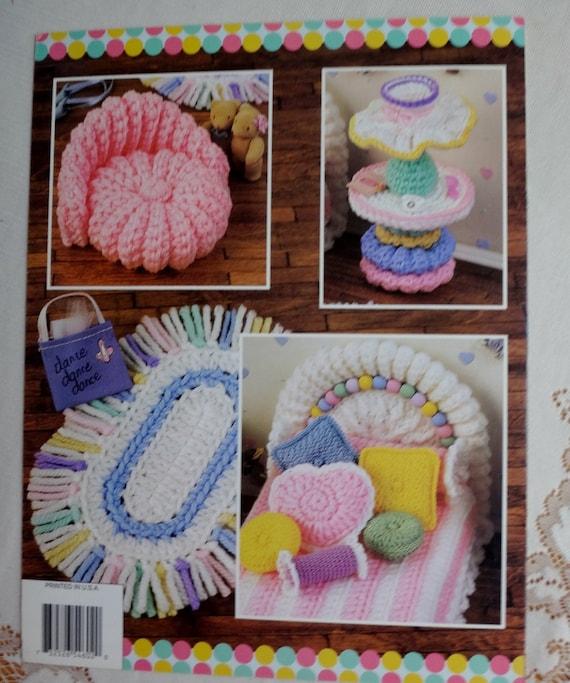 Vintage crochet book annie 39 s fashion barbie doll sissy 39 s - Crochet mural vintage ...