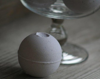 Lavender Honey Bath Bombs - made with Olive Oil and Shea Butter