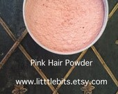 18th Century Pink Hair and Blush Powder- Crushed Rose Petals- Historical Label