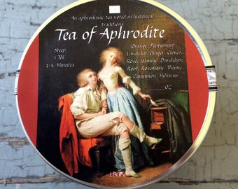Tea Of Aphrodite- An Aphrodisiac Tea Noted In Historical Traditions
