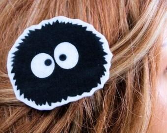 Totoro Soot Sprite Hair Clip MTCoffinz