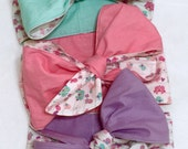 Baby or Toddler Wide Bow or Head Wrap