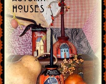 Apple Tree Cottage Origanl Design E Pattern - Little Autumn Houses