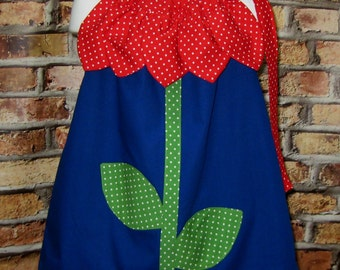 Flower Dress, Girl Flower Dress, Girl Dress, Floral Dress, Girl Dress, Toddler Dress