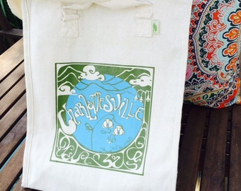 Charlottesville Grow Your Own Roots Tote - Green
