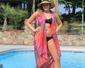 Meet Me in Rio ... hand painted silk sarong