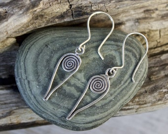 Spiral Point Earrings