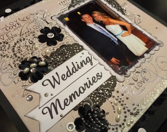 Personalized Wedding Scrapbook Album