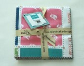 """SALE 5"""" inch squares MODERN MINI'S charm pack fabric by Riley Blake by Lori Holt"""