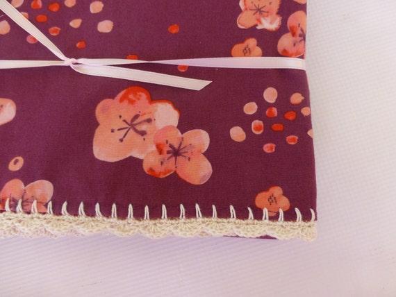 Crocheted Edge Blanket - Baby Dear Shop