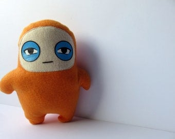 Plush Stuffed Orange Glum Ninja Doll