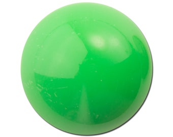 Vintage Green Acrylic Domed Cabochons 24mm (4) cab835E
